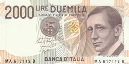 BANCONOTA ITALIA 2000 MARCONI UNC (VS846 - 2000 Lire