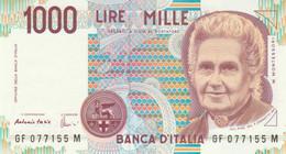 BANCONOTA ITALIA MONTESSORI 1000 UNC (VS848 - 1000 Liras
