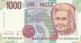 BANCONOTA ITALIA MONTESSORI 1000 UNC (VS850 - 1000 Liras