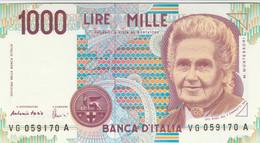 BANCONOTA ITALIA MONTESSORI 1000 UNC (VS851 - 1000 Liras