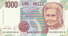 BANCONOTA ITALIA MONTESSORI 1000 UNC (VS854 - 1000 Liras