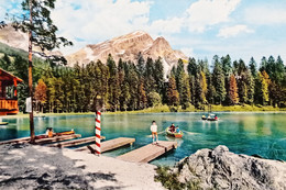 Cartolina - Dolomiti - S. Vito Di Cadore - Il Lago Con L'Antelao - 1965 - Belluno