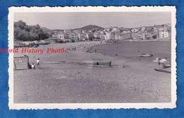 Photo Ancienne Snapshot - BANYULS ( Pyrénées Orientales ) - La Plage - TOP - Cabanon Pédalo Canot - Lugares