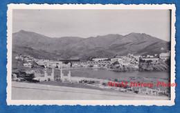 Photo Ancienne Snapshot - CERBERE ( Pyrénées Orientales ) - Vue Sur La Baie - Cimetière Histoire Patrimoine - Lugares