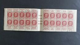 France Carnet Petain Date 8/7/ 1942 Neuf ** Et Complet Série 64 Secours National - Neufs