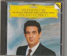 Cd  PLACIDO DOMINGO  Verdi  Puccini   :  Etat: Très Très Bon : - Classica