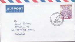Nieuw Zeeland 1990, Stamped With A  Bird - Covers & Documents
