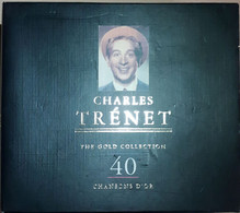 CD CHARLES TRENET « The Gold Collection, 40 Chansons D'Or » (2CDs) - Non Classificati
