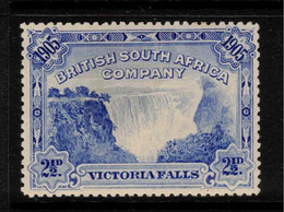 RHODESIA 1905 2 1/2d Victoria Falls SG 95 HM #BAW7 - Other