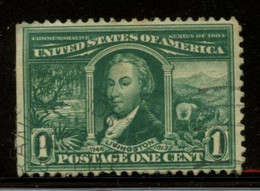 U.S.A. - 1904 1c Green Livingston. Unused Without Gum. SCOTT #323. - Unused Stamps
