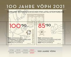 Austria - 2021 - Association Of Austrian Philatelic Associations - Mint Souvenir Sheet - 2011-2020 Unused Stamps