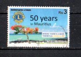 Timbre  Oblitére De L'ile Maurice  2018 - Mauritius (1968-...)