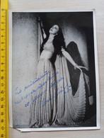 #FR4**  Opera Ballet Samson And Delilah Autograph ANA LIPSHA TOFOVIKJ - Berühmtheiten