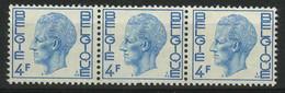 België R45-Cu ** - Rolzegel Met Nummer - In Het Midden Van De Zegel Een Zéér Smalle Tand - Curiosidades