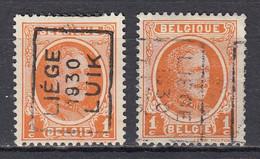 5312 Voorafstempeling Op Nr 190 - LIEGE 1930 LUIK - Positie A&B - Rollini 1930-..