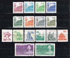 China P.R. 1951- 1954, 3 Complete Sets ,  Ungebraucht / MNH / Neuf - Nuovi