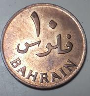 BAHREIN : 10 FILS 1965 KM 3 BR.UNC - Bahrein