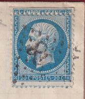 N°22 BELLE VARIETE DE PICQUAGE A CHEVAL LODEVE HERAULT POUR PARIS - 1849-1876: Klassieke Periode