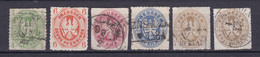 Preussen - 1861 - Michel Nr. 14/18 - Gestempelt - 70 Euro - Prusse