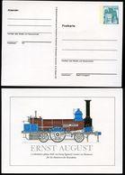 Bund PP100 D2/020 LOKOMOTIVE ERNST AUGUST Hannover 1977  NGK 6,00 € - Privatpostkarten - Ungebraucht