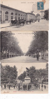 LOT005........10 CPA BEZIERS - 5 - 99 Postcards