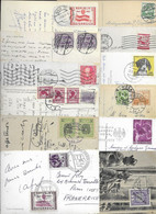 LOT OF 31 POSTCARDS WITH VARIOUS STAMP AUSTRIA. ALL SCANNED. - Verzamelingen