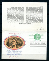 USA 1977 Postal Stationary Card First Day Issue With Reply Card 11498 - 1961-80