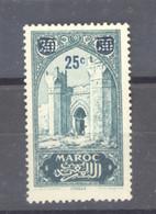 Maroc  :  Yv  125  ** - Ongebruikt
