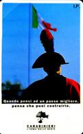 G PRP 204 C&C 3297 SCHEDA TELEFONICA NUOVA MAGNETIZZATA CARABINIERI 2.000 L - Pubbliche Speciali O Commemorative