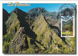 France à Voir Carte Maximum Portraits Des Régions 2008 4170 La Réunion Cirque De Mafate - 2000-09
