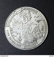 """Médaille Jeton Star Wars - La Guerre Des Etoiles """"Luke Skywalker"""" George Lucas - Cinéma - Professionali/Di Società"""