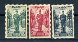 Maroc  :  Yv  299-01  ** - Unused Stamps