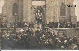 Yves-Gomezée - Fête Patriatique - 17/08/1919 - Photo Susceptible D'être Envoyée En Carte Postale Animée Plein De Monde - Walcourt