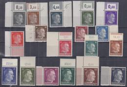 DR OSTLAND 1-18, Postfrisch **, AH, 1941 - Besetzungen 1938-45