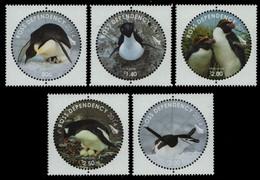 Ross-Gebiet 2014 - Mi-Nr. 139-143 ** - MNH - Pinguine / Penguins - Ongebruikt