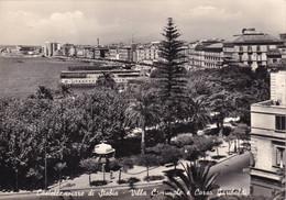 Cartolina Castellammare Di Stabia ( Napoli ) Villa Comunale E Corso Garibaldi - Castellammare Di Stabia