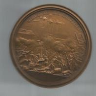 Médaille, Dia. 82 Mm , 250 Gr., Histoire ,SIEGE DE LA BASTILLE, Bronze, F. ANDRIEU , Frais Fr 15.50e En RAR 1 - Royal / Of Nobility
