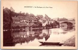 19 ARGENTAT Carte Postale Ancienne [REF 50424] - Autres Communes