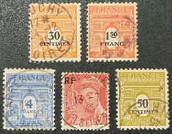 N° 702/708/627/547/704  Avec Oblitération Cachet à Date De 1945  TTB - Usados