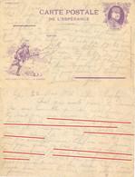 GUERRE 14-18 CP DE L'ESPÉRANCE JOFFRE « NOS DIABLES BLEUS » 22-5-17 Les Boches Sont Toujours Dans Les Sapins … - WW I