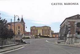 (R019) - CASTEL BARONIA (Avellino) - Chiesa Di Santa Maria Delle Fratte E Piazza Mancini - Avellino