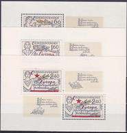 ** Tchécoslovaquie 1977 Mi 2407-9 Klb. (Yv BF 40-2), (MNH) - Ungebraucht
