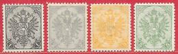Bosnie-Herzégovine N°10 à/to 13 1900-01 * - Bosnie-Herzegovine