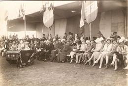 Photographie Ancienne De Syrie Par Derounian Frères, Alep / Aleppo, Fête Avec Notables Et Militaires Français, 1928 - Lugares