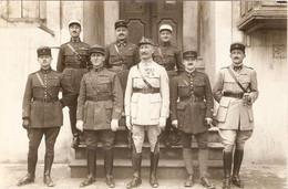 Photographie De Syrie Par Derounian Frères, Alep / Aleppo, Officiers Français, Ca 1928, Général, RIC, 4e RT, 23e RI - Lugares