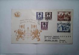 H 16 Lettre Ou/ Document Contre La Tuberculose - Briefe U. Dokumente