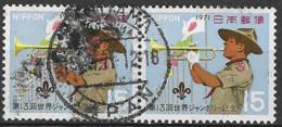 JAPAN # FROM 1971 STAMPWORLD 1108 - Gebraucht