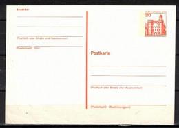 94g * BERLIN GANZSACHE * 1 FEINSTE WERTE SCHLOSS PFAUENINSEL * MICHEL * POSTFRISCH **!! - Postkarten - Ungebraucht