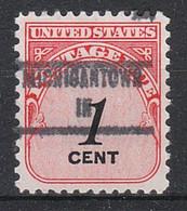 USA Precancel Vorausentwertungen Preos, Locals Indiana, Michigantown 853 - Vorausentwertungen