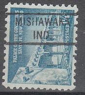 USA Precancel Vorausentwertungen Preos, Locals Indiana, Mishawaka 821 - Precancels